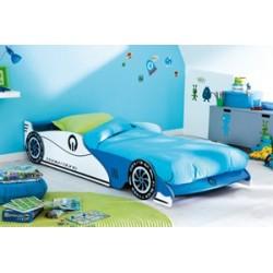 Lit voiture Bleue
