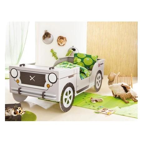 Lit voiture Gris Jeep