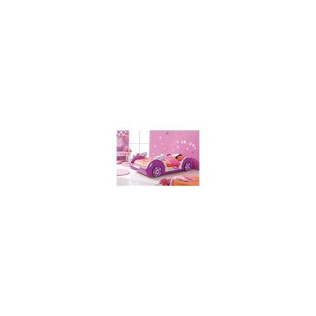 Lit voiture violette