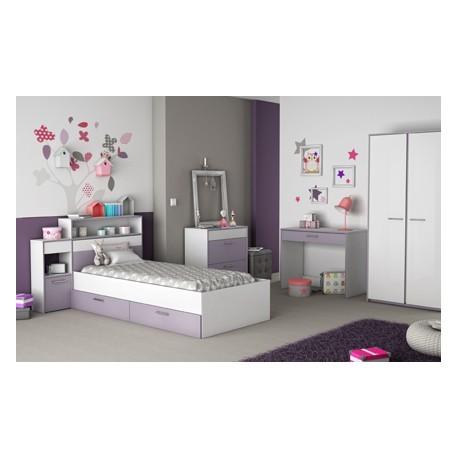 chambre fille compl te d pot vente du toulois. Black Bedroom Furniture Sets. Home Design Ideas
