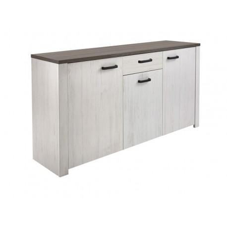 buffet marquis aspect ch ne blanchi d pot vente du toulois. Black Bedroom Furniture Sets. Home Design Ideas