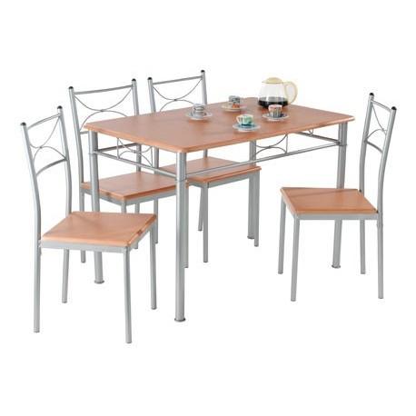 Table Annapurna + 4 Chaises