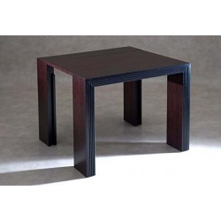 Table Bois Moderne Allonge